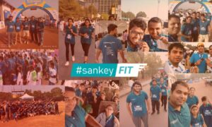 Sankians participating in Marathon